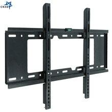 2019 אוניברסלי טלוויזיה קיר הר סוגר קבוע טלוויזיה שטוח מסגרת עבור 32 כדי 70 אינץ LCD LED צג שטוח פנל מדורג עומס 75 kg