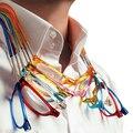Unisex Imán Dioptría Gafas Lentes de Los Vidrios de Lectura Magnética Delgada Plegable Hombres Mujeres Ajustable Cuello Colgante presbicia