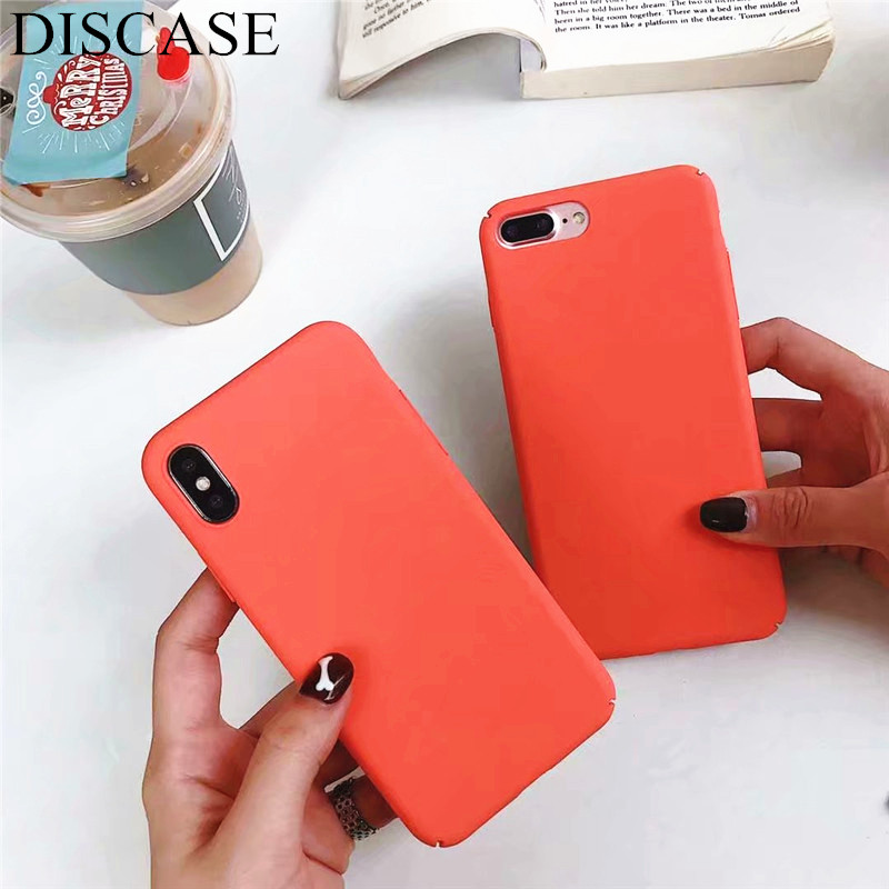 DISCASE All Inclusive PC Hard Shell Phone Case For Iphone