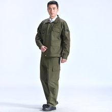 Outdoor Winter Camouflage Military Uniform Clothes Suit Men Army Green Wear-resistant Clothes High Quality Overalls for Worker