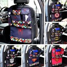 Phone Tissue Book Water Storage Bag with Superman, Batman, Flash Style