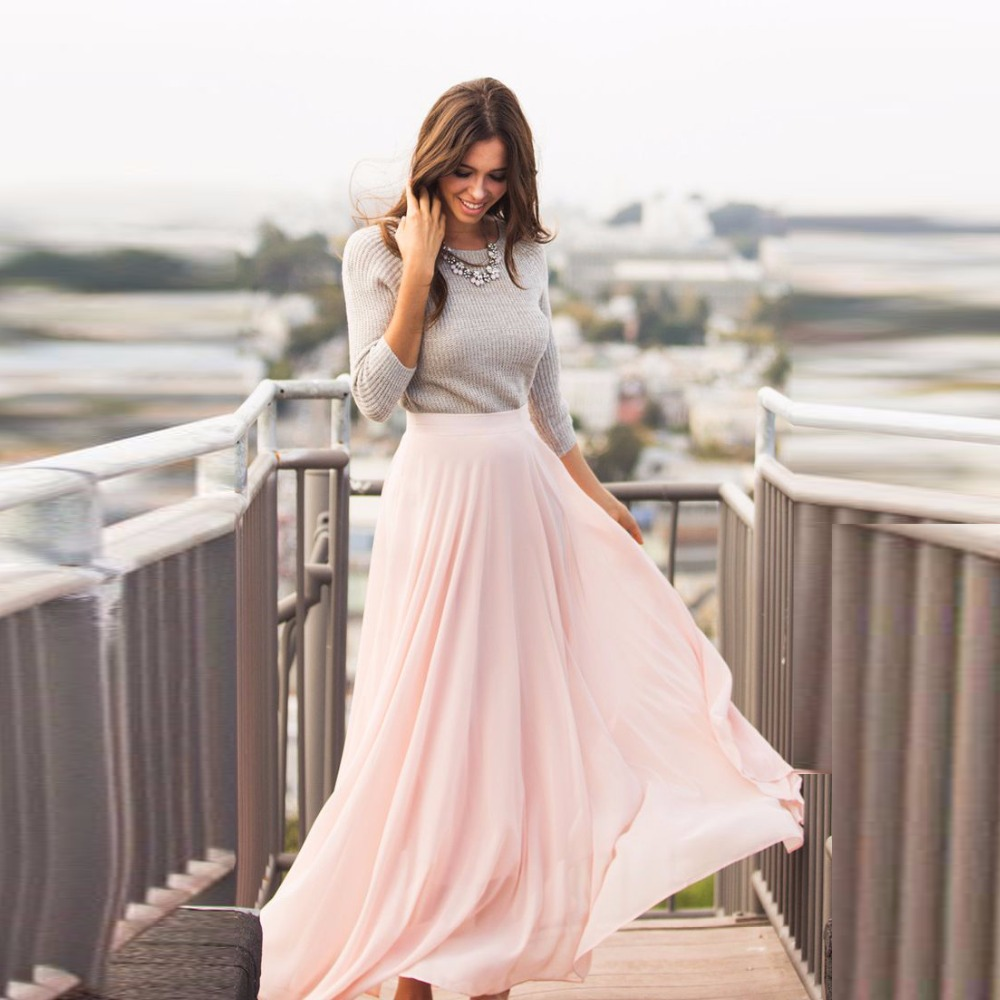 Popular Long Pink Skirts-Buy Cheap Long Pink Skirts lots from ...