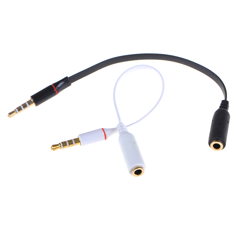 3.5 NS Headphone Earphone Speaker Stereo Audio Cables Cord Male To Female 3.5mm US Jack Audio Extension Cable Cord Length 18cm