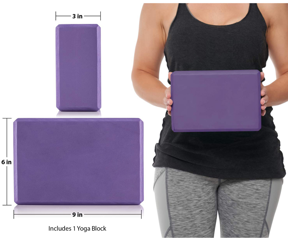 Yoga Foam Block-Improve Yoga Poses-Eco-friendly