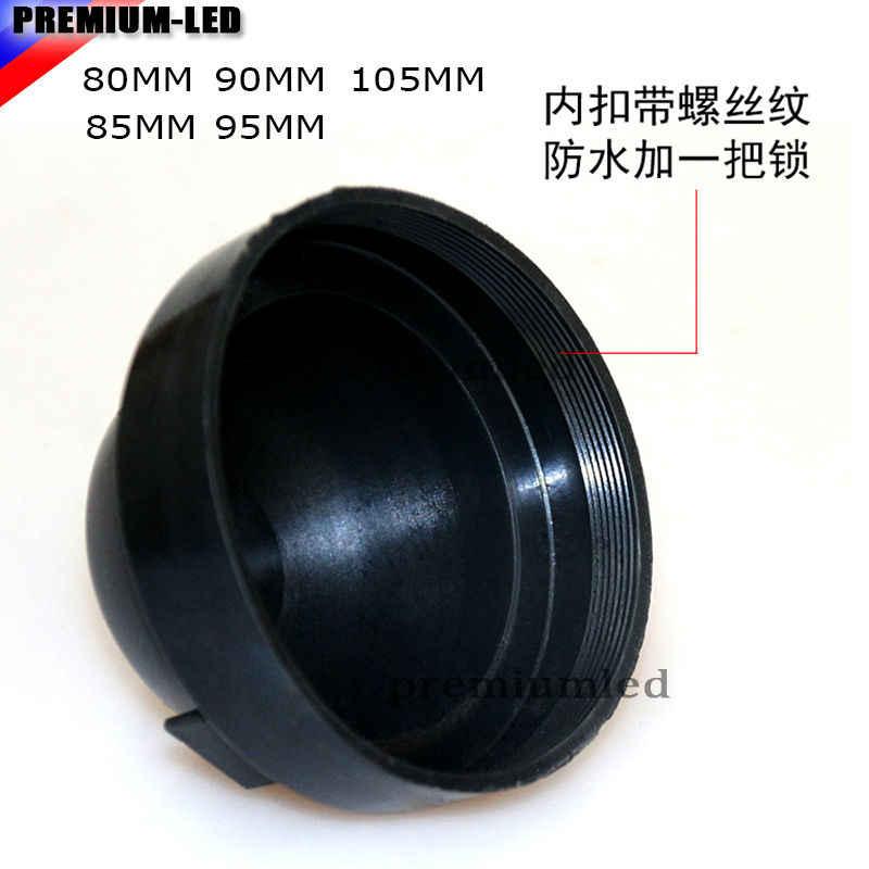 Headlight Plastic Dustproof Cover Headlight Cover Rubber Housing Caps For LED Headlight C6 31mm Pack of 2 DC-C6