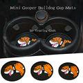 Автомобиль Юнион джек Бульдог практичным коврики для mini cooper R55 R56 R57 R60 R61 F55 F56 аксессуары для интерьера
