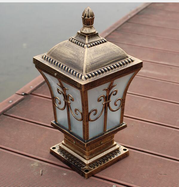 Outdoor Light aluminum wall lamp headlight lamp lamp door square pillars courtyard lamp outdoor waterproof Garden lights FG197