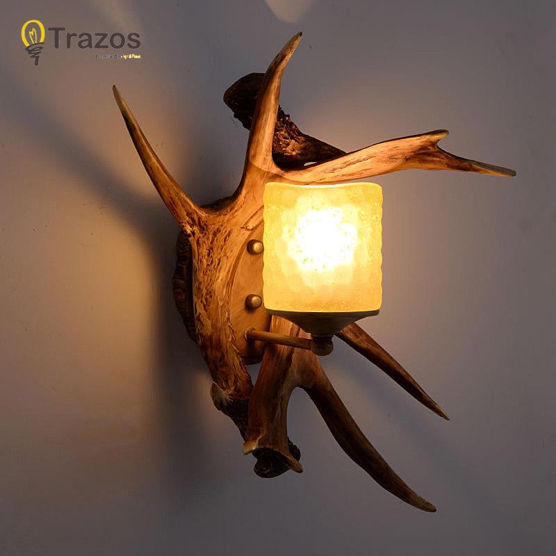 все цены на Art decor Wall Lamp for Home stair front door light Xmas party gift lampara de pared vintage indoor European loft guiding light
