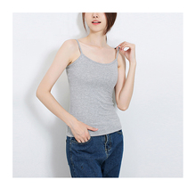 iDzn Brand Clothing New Fashion Summer Casual sexy Women Camisoles Lady Sleeveless vest Grey White Camis