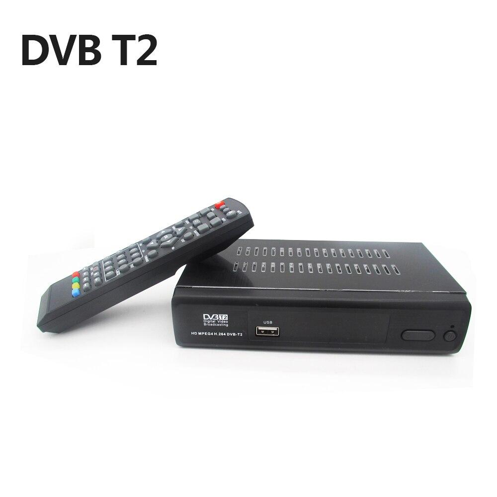 DVB T2 Satellitenempfänger HD Digital TV Tuner Rezeptor MPEG4 H.264 Terrestrischen TV Receiver DVB-T Tuner Kostenloser Versand M2