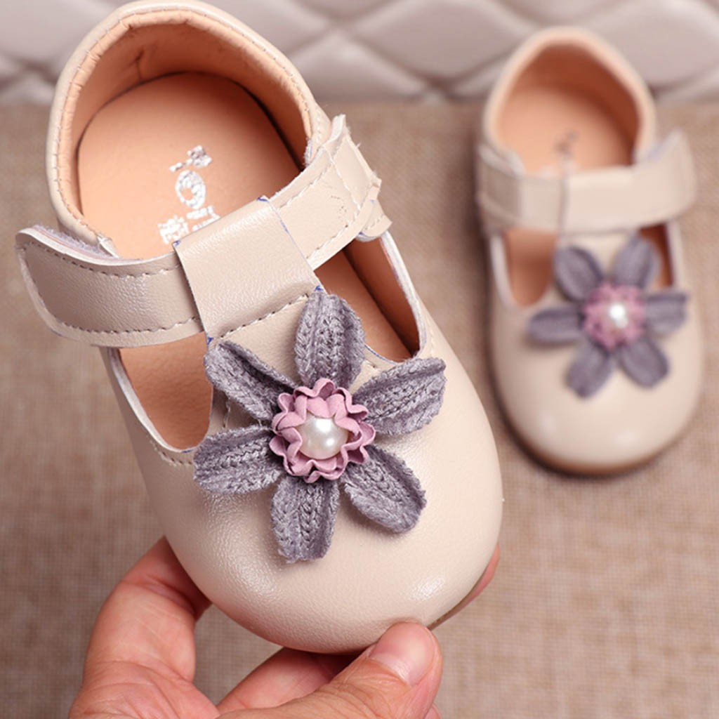 Lederschuhe Gut Kleinkind Infant Kinder Baby Mädchen Elegante Blume Einzigen Prinzessin Casual Schuhe Zapatos Casuales Zapatos De Princesa Einzelnen Schuhe Mutter & Kinder