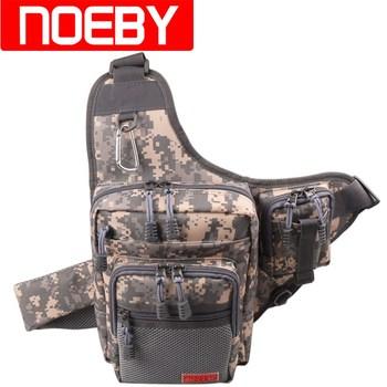 Noeby-Bolsa de Pesca impermeable, 23x18x8cm, 420D, PVC, para exteriores, riñonera, cubierta de...
