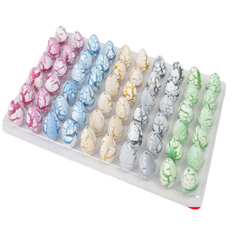 12/30/60pcs Children Toys Funny Novelty Water Expansion Hatching Egg Animal Kids Babies Toy Children's Box Large Dinosaur Eggs creative dinosaur egg interactive cute fantastic hatching egg with plush animal novelty gag toys growing dinosaur eggs