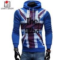 2017 New Fashion Hoodies Brand Men American Flag Pattern Sweatshirt Male Hoody Hip Hop Autumn Winter