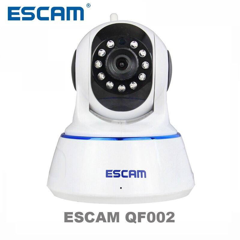 bilder für Escam 720 P QF002 Indoor Netzwerk WIFI Ip-kamera unterstützung P2P IR-Cut Smartphone H.264 Pan/Tilt PT Drahtlose MAX 32G TF karte