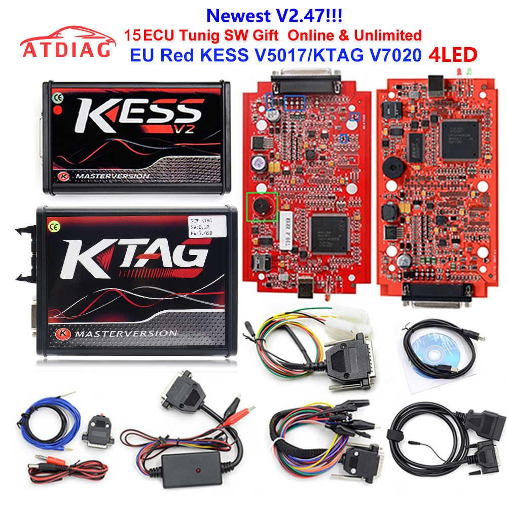 Detail Feedback Questions about KESS V2 Master KessV2 V2 47