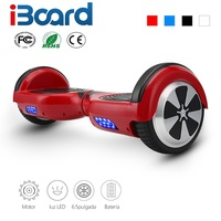 4 Colors 6 5 Inch Hoverboard Two Wheels Self Balance Scooter Hover Board With Carry Bag