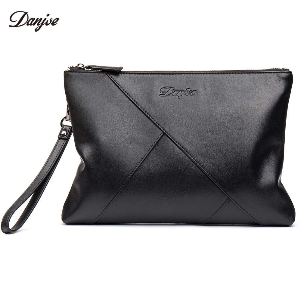 DANJUE Genuine Leather Business Day Clutches Package Real Leather Men Hand Jacket Phone Bag Long Wrist Handbag Men Daily WalletDANJUE Genuine Leather Business Day Clutches Package Real Leather Men Hand Jacket Phone Bag Long Wrist Handbag Men Daily Wallet