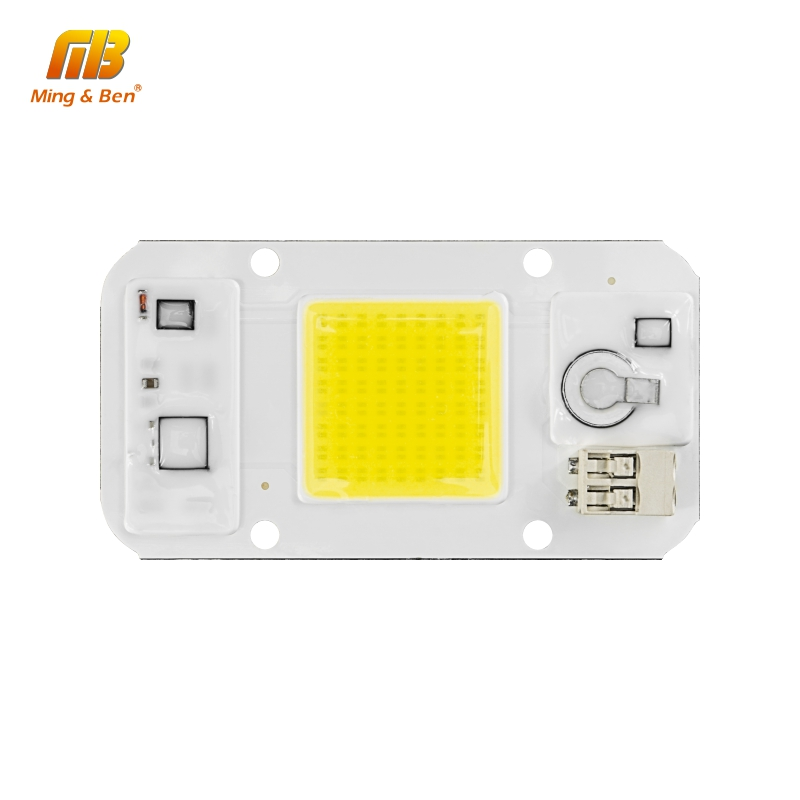 Dimmable LED COB Lamp Chip 220V 110V 20W 30W 50W Smart IC DIY For LED Flood Light Spotlight No Driver High Quality LED Beads