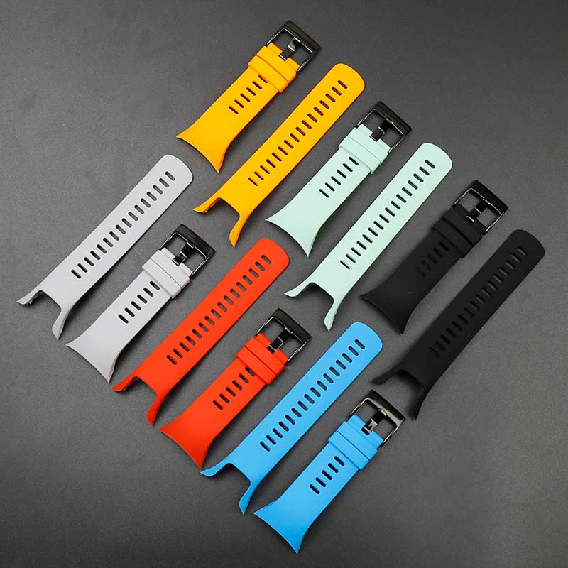 Image 4 - Watch accessories For Suunto Spartan Trainer Wrist HR cool running series men's and women's silicone sports waterproof strap-in Watchbands from Watches