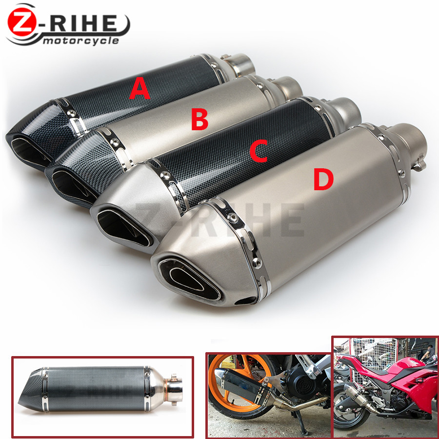 For Motorcycle Universal 36 51mm Exhaust Pipe Muffler Moto Ktm 640 Lc4 Supermoto Wiring Diagram Sooter 390 Duke 690 Enduro R 2014 In Systems