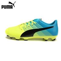 Original New Arrival PUMA evoPOWER 3.3 AG Power Men's Soccer Shoes Football Sneakers