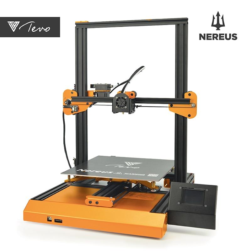 Imprimante 3D préassemblée TEVO Nereus grande impression 320*320*400mm Wifi/écran tactile/capteur de Filament/cv de mise hors tension/cadre en métal