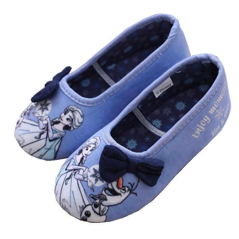 Kids Children Girl Elsa Girls Princess Shoes Fashion Blue party Shoes Anna  Queen Casual Sneakers soft ca3ddacff826