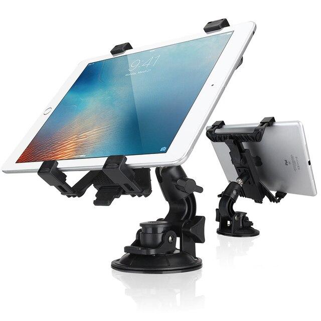 """Uchwyt na tablet do samochodu stojak uniwersalny wspornik stojakowy tylnym siedzeniu samochodu do montażu na 360 obrót dla Samsung iPad Mini/iPad Air 2 4 3 7-10"""""""