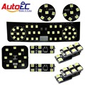 AutoEC 8pcs/set Car Festoon dome panel light lamp bulb Interior Dome&Map Reading Light  kit  for skoda superb #LDK14