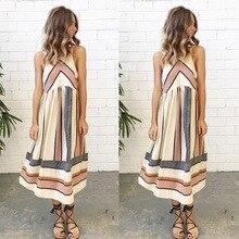 spring and summer fashion striped woman dresses hotan style casual loose o-neck mid-calf length sleeveless female dresses hotan jade 001289 190