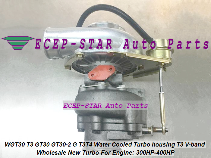 WGT30 T3 GT30 GT30-2 G T3T4 Turbo Turbocharger Turbine housing T3 V-band Water Cooled 300HP-400HP (5)