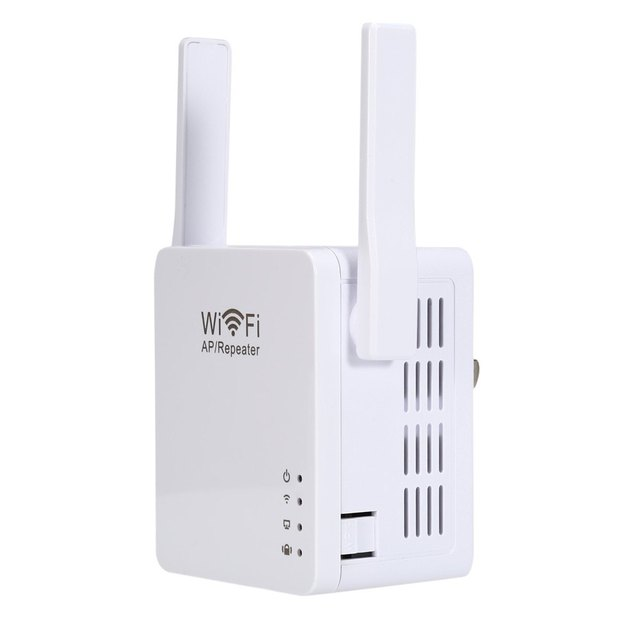 Mini Wifi Network Security 300Mbps WiFi Repeater Network Router Expander Range Wireless Signal Booster With USB Charging Port
