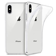 """Чехол для iPhone X, тонкий прозрачный мягкий ТПУ чехол с поддержкой беспроводной зарядки для Apple 5,"""" iPhone X/iPhone 10( выпуск"""