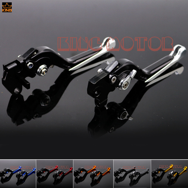 ФОТО For YAMAHA YZF R125 YZF-R125 2008-2011 Motorcycle Accessories Adjustable Folding Extendable Brake Clutch Levers Silver