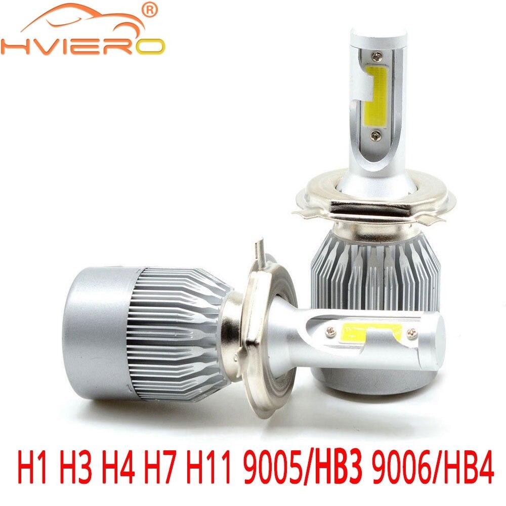 9005 H1 HIGH LOW BEAM Combo COB LED Headlight Bulb For Jaguar XKR Nissan Altima