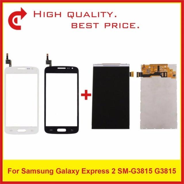 """4.5 """"עבור Samsung Galaxy Express 2 SM G3815 G3815 Lcd תצוגת מסך Pantalla צג החלפה"""