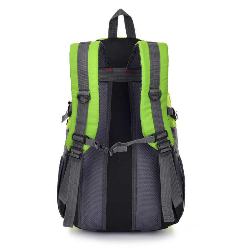 2018 новый высококачественный водонепроницаемый нейлоновый рюкзак для мужчин и женщин сумка Mochila рюкзак для альпинизма и путешествий сумки мужские рюкзаки