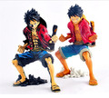 18cm One piece Anime Figure Monkey D Luffy Figure 2 Years Later Children  Model Toys Collections