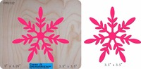 Snowflake die cut, snow flake die cut, snowflake diecut for use in your machine