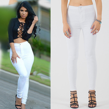 785f53151a76 2016 Real Photo Women White Jeans Sexy Lady Jeans Overalls High Waist Denim  Boyfriend Jeans For