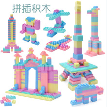 1008pcs/Compatible city Childrens building blocks toy City Mini Macaron DIY Creative Building Bricks kids gift 957pcs my world figures toy building blocks compatible with legoed minecrafted city diy bricks toy gift for boy girl gift new