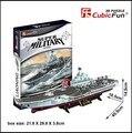 Brinquedo educativo 1 pc criativo China Liaoning 3D DIY papel puzzle kits modelo de navio de brinquedo crianças