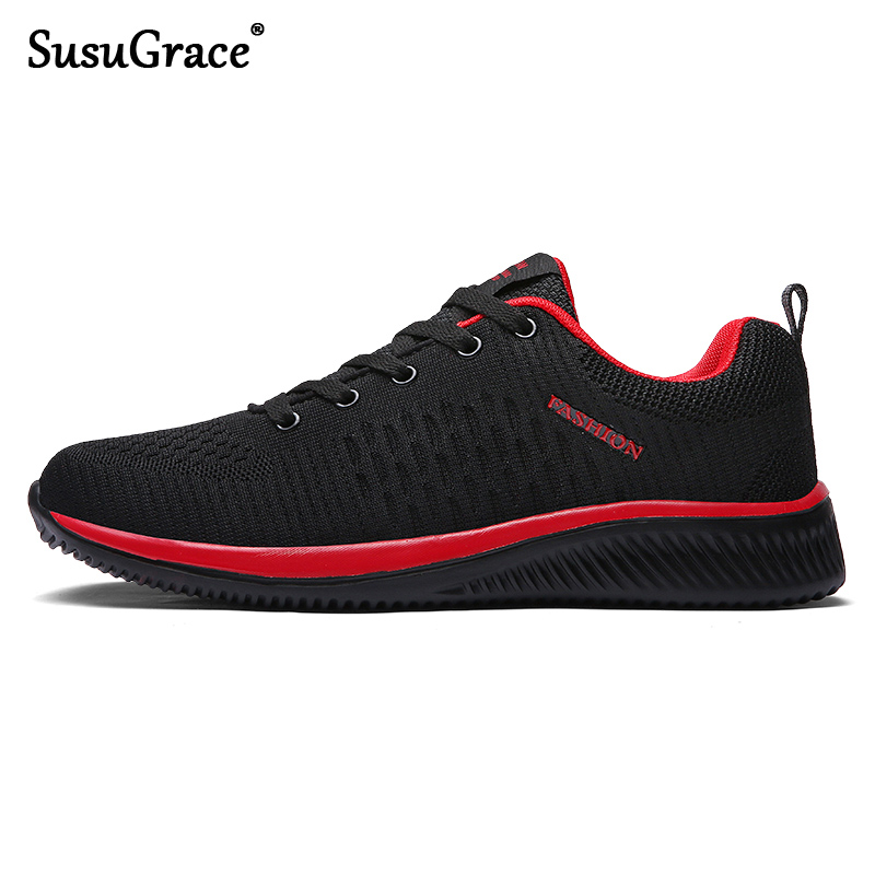 Valstone Men's Sneakers Breathable Running Trainers Male Spring Summer Outdoor Sports Walking Shoes Light Weight Plus Size 38-48
