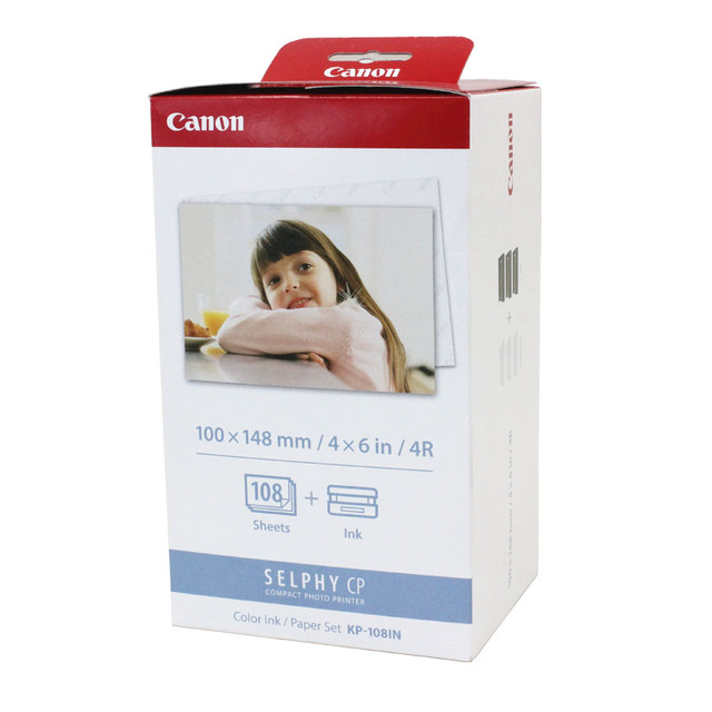 Canon KP 108 מצלמה הדפסת נייר חם סובלימציה אוניברסלי Canon CP סדרת 108