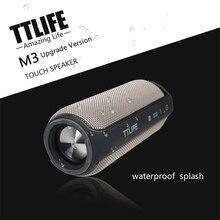 TTLIFE M3 Mise À Niveau Version Sans Fil Bluetooth 4.1 Haut-Parleur IPX4 Eau Écran Tactile Tasse-L Portable Super Bass 4000 mAh longue Attente