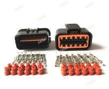 12 Pin PB625 12027 PB621 12020 Khí Accelerator Pedal Nối Ô Tô Connector Cho 99 05 VW Jetta Golf GTI MK4 Audi