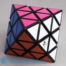Даян октаэдр волшебный куб головоломка прозрачный и белый и черный добро пожаловать купить