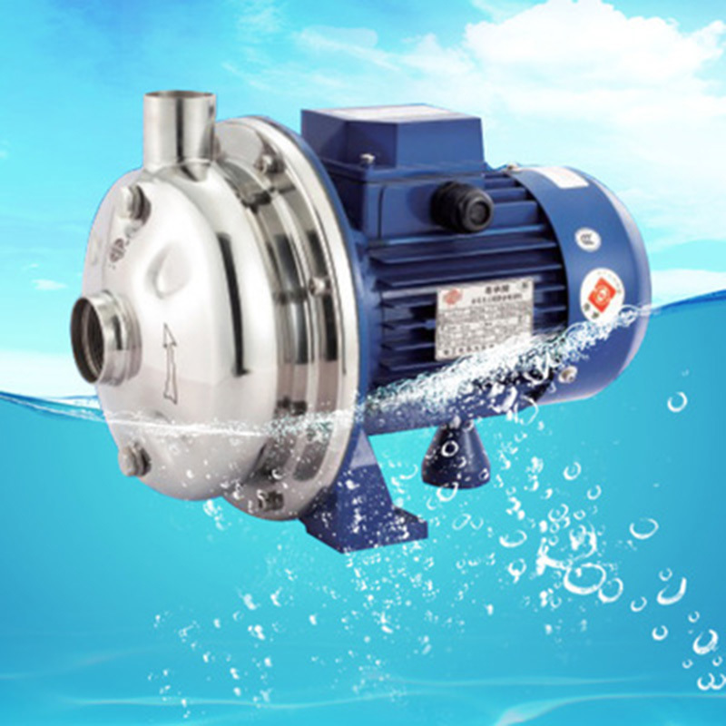 Stainless Steel Centrifugal Smal Water Pump WB-50-250W 0.33Hp 220V/380V цена и фото