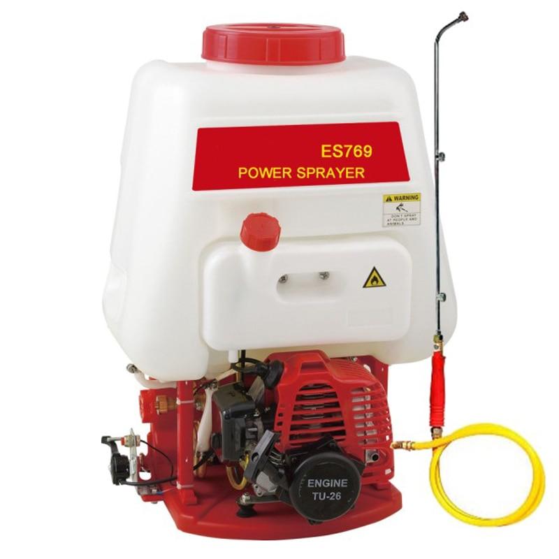 Sprayer ES769 Gasoline Garden Knapsack Sprayer Water Spray Pulverizador Agriculture Tools Misting Irrigation Machine Sprinkler
